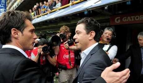 Gallardo tem disputa pessoal com Schelotto na final da Libertadores (Reprodução/Facebook)