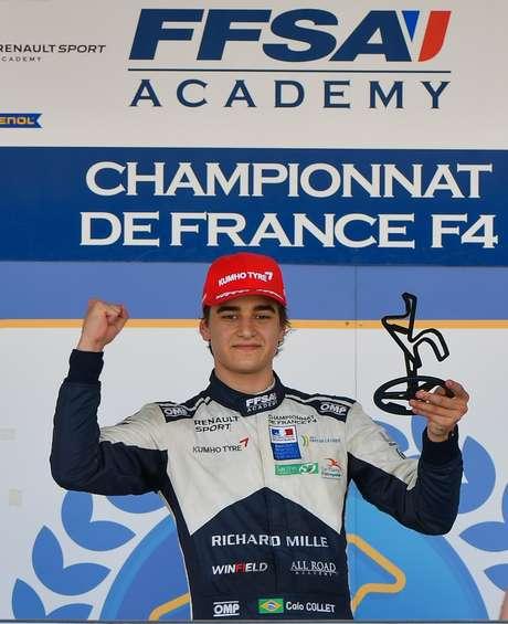 Caio Collet venceu a Fórmula 4 Francesa nesta temporada