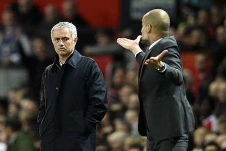 José Mourinho e Pep Guardiola já se enfrentaram em diversos clubes diferentes