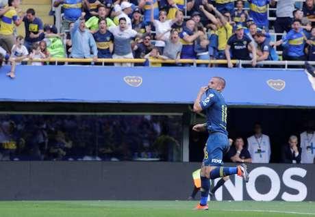 A estrela de Benedetto brilhou de novo: o atacante entrou no segundo tempo e marcou o segundo gol do Boca