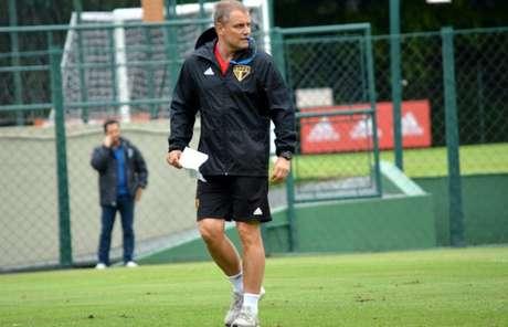 Aguirre fez um bom primeiro turno, mas viu sua equipe cair muito de rendimento no segundo (Érico Leonan/saopaulofc.net)