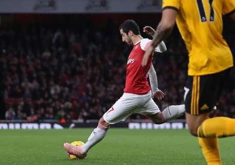 Mkhitaryan marcou o gol de empate (Foto: Reprodução)