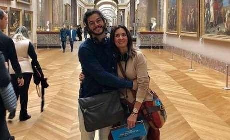 Fátima Bernardes e Túlio Gadelha.
