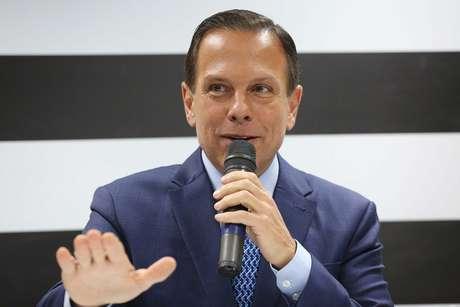 O governador eleito em São Paulo, João Doria
