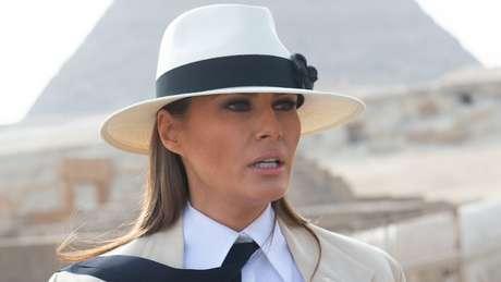 Os problemas entre Melania Trump e Mira Ricardel supostamente remontam à viagem oficial da primera-dama à África em outubro