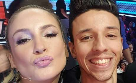 Claudia Leitte and Rafah of The Voice of 2016.