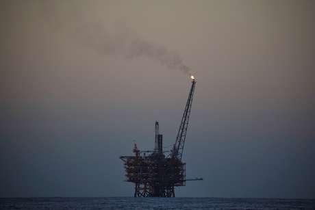 Plataforma de petróleo no Mar Mediterrâneo 07/10/2018 REUTERS/Alkis Konstantinidis