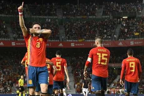 Espanha vai contar com novidades e o retorno de Jordi Alba (Foto: Jose Jordan / AFP)