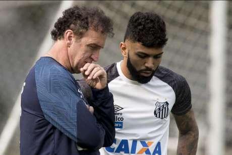 Gabigol volta a falar sobre as possibilidade de ficar no Santos em 2019 (Foto: Ivan Storti/Santos)