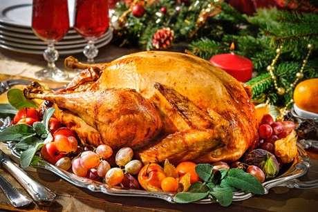Como temperar peru de Natal