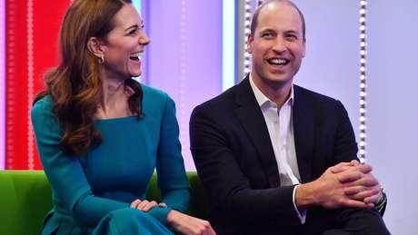 Kate e William visitaram a BBC nesta quinta
