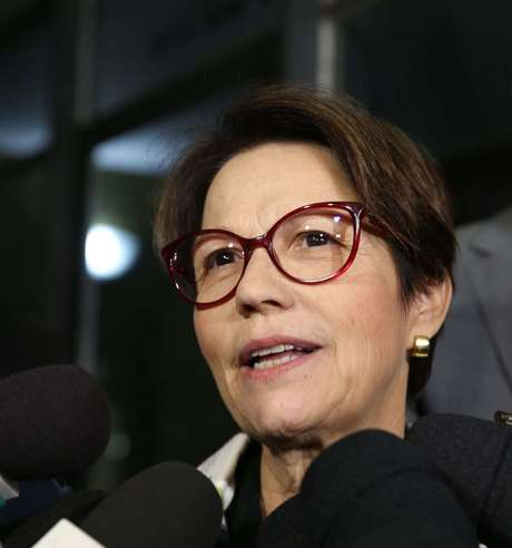 A deputada Tereza Cristina (DEM) será ministra da Agricultura do governo Bolsonaro.