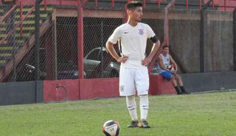 Fabrício Oya marcou o gol do Corinthians (Foto: Divulgação)