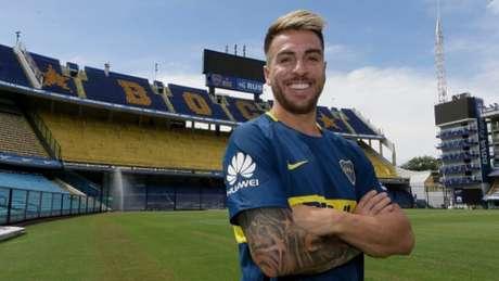 Buffarini teve passagem pelo São Paulo e vive bom momento no Boca Juniors Divulgação