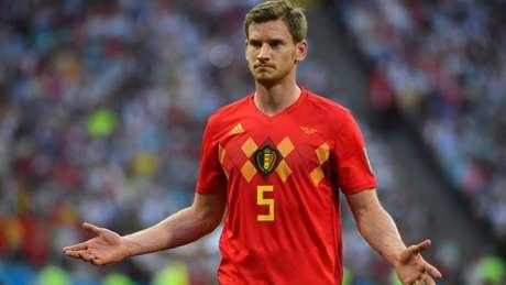 Zagueiro foi titular na Bélgica durante a Copa do Mundo (Foto: AFP)