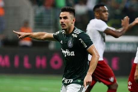 Willian em Palmeiras x Fluminense