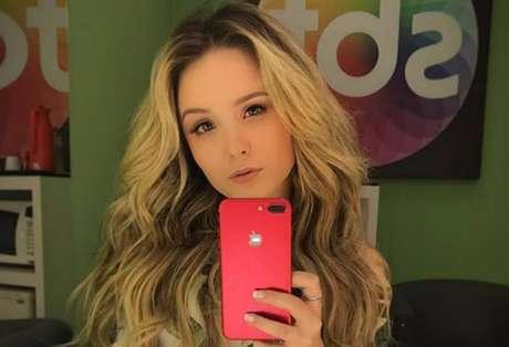A atriz Larissa Manoela