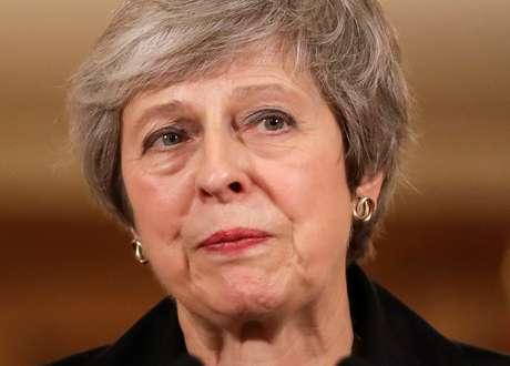 Premiê britânica, Theresa May 15/11/2018 Matt Dunham/Pool via Reuters