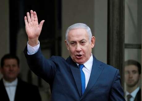 Netanyahu em Paris  11/11/2018   REUTERS/Reinhard Krause