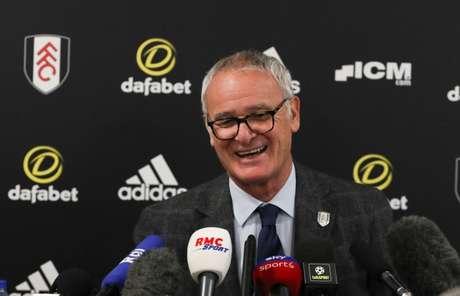 Ranieri conceceu entrevista coletiva nesta sexta (Foto: Divulgação)