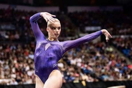 Alyssa Baumann é quinta campeã mundial a revelar abuso de Larry Nassar (Foto: Reprodução/Instagram)