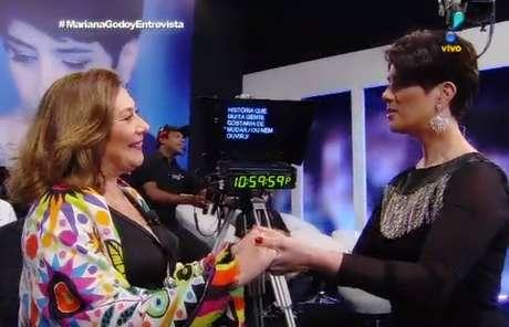 Mirian Dutra concedeu uma entrevista reveladora a Mariana Godoy na RedeTV!