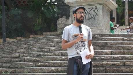 Jornalista Guilherme Soares Dias apresenta história do Obelisco do Piques, antes destino final dos tropeiros e hoje uma escadaria ocupada por moradores de rua