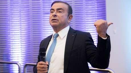 Ghosn também é presidente e diretor-executivo da Renault e da Mitsubishi Motors