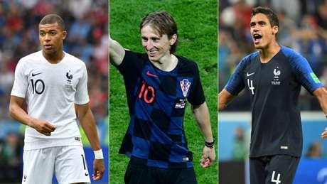Craques foram decisivos na Copa do Mundo (Foto: AFP)