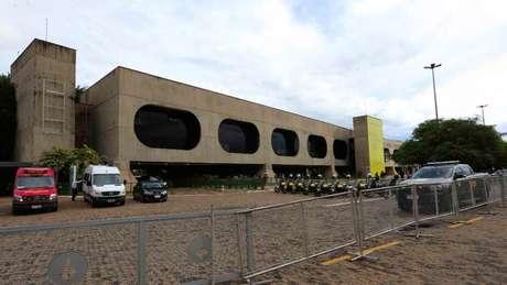 O prédio onde a equipe de transição de Bolsonaro tem trabalhado