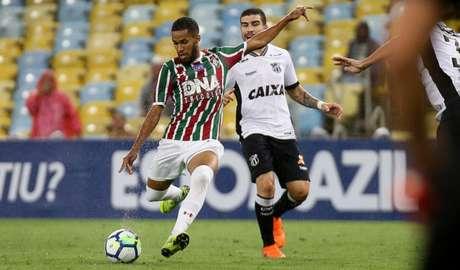 Fluminense empatou com o Ceará em casa (Foto: LUCAS MERÇON / FLUMINENSE F.C.)