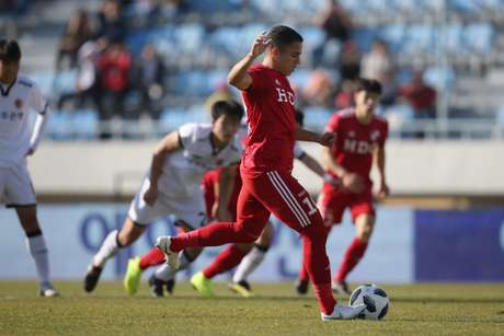 Romulo já está em sua segunda temporada pelo clube coreano (Divulgação/Busan I Park)