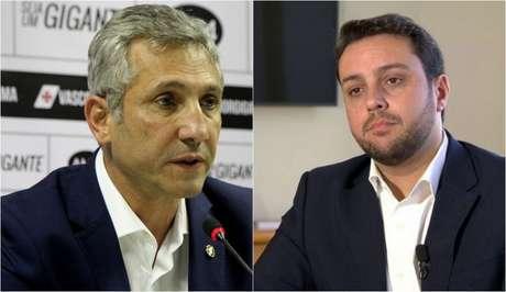 Alexandre Campello e Julio Brant trocam farpas desde o início do ano (Reprodução)