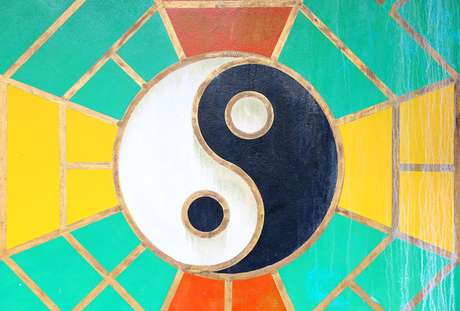 A energia masculina é a energia Yang, já a energia feminina é a energia Yin