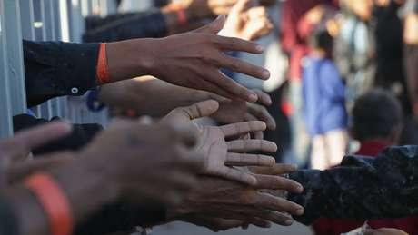 A reação dos moradores de Tijuana à caravana tem sido contrária à apresentada no restante do território mexicano