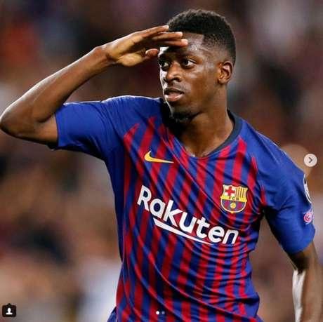 Dar uma segunda chance para Dembélé seria melhor aos cofres catalães (Foto: Reprodução/ Instagram)