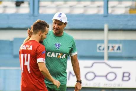 Nando Carandina quer a permanência na Série B (Foto:  Divulgação/Paysandu)