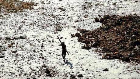 A tribo da ilha de Sentinela mostrou objeção a conviver com estranhos, de acordo com especialistas