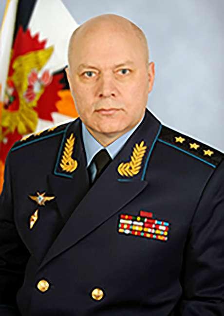 Igor Korobov, chefe da agência de inteligência russa GRU, que morreu aos 62 anos 22/11/2018 Ministério da Defesa Russo/Divulgação via Reuters
