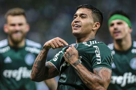 O técnico Felipão e os jogadores do Palmeiras acreditam que Dudu foi o craque do Brasileirão