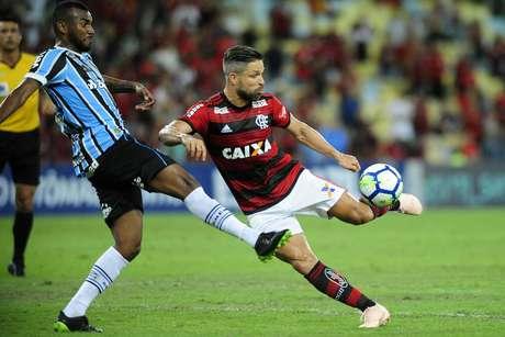 Diego marcou o segundo gol do Flamengo