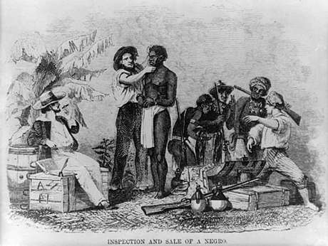 Mercadejando escravos