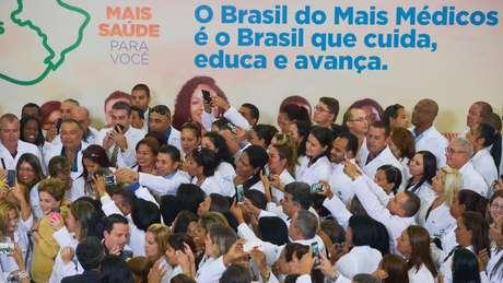 Programa Mais Médicos foi criado pelo governo de Dilma Rousseff