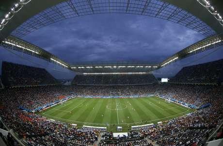 Vista da Arena Corinthians durante semifinal da Copa do Mundo de 2014 entre Holanda e Argentina 09/09/2014 REUTERS/Paulo Whitaker