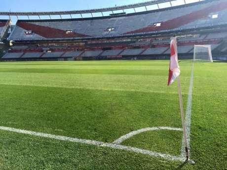 Estadio Monumental de Nunez será o palco da final da Libertadores deste sábado (Foto:divulgação)