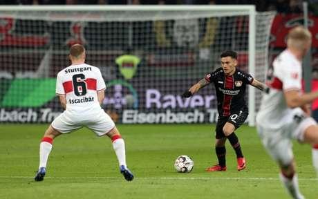 Leverkusen venceu por 2 a 0 (Foto: Reprodução / Twitter)