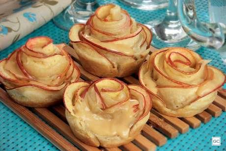 Tortinha folhada de maçã