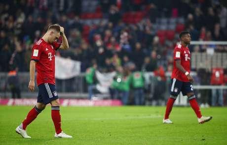 Kimmich lamenta empate do Bayern