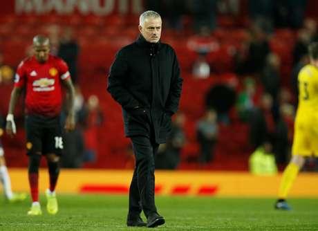 Mourinho lamenta empate do Manchester United