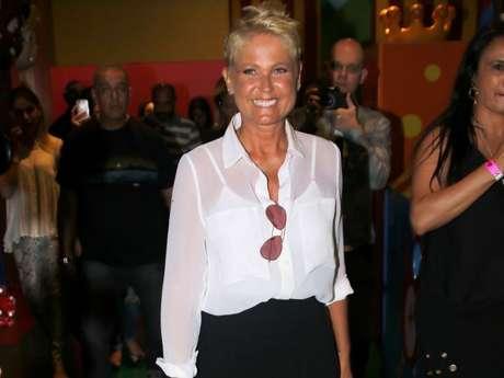 Xuxa avisou ainda que não fará show em Recife no próximo fim de semana. 'Não vai dar certo fazer com essa senhora', disse sobre a contratante